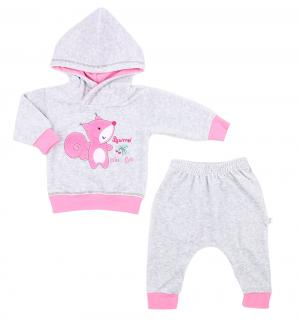 Комплект джемпер/брюки , цвет: серый/розовый Koala