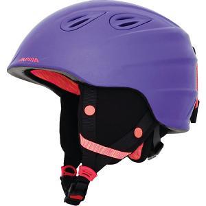 Зимний шлем  GRAP 2.0 JR royal-purple matt Alpina. Цвет: фиолетовый