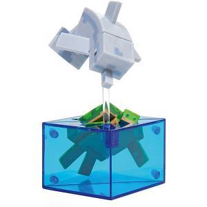 Фигурка  Adventure figures Dolphin and Turtle 4 серия, 10 см Minecraft. Цвет: weiß/beige