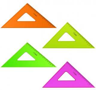Треугольник  Neon Cristal прозрачный Стамм