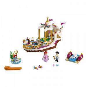 Конструктор  Disney Princess Королевский корабль Ариэль Lego