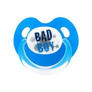 Пустышка  Dental дневная BasicCare Drama Queen/Bad Boy силикон Bibi