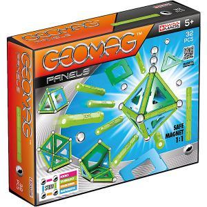Магнитный конструктор  Panels, 32 детали Geomag. Цвет: оранжевый