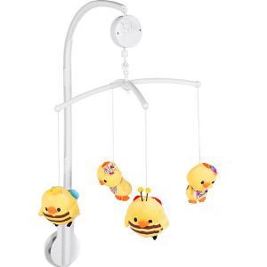 Мобиль на кроватку  Baby Пушистые зверята Mioshi. Цвет: разноцветный