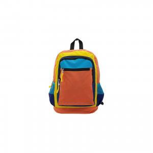Рюкзак Оранжевое настроение, цвет оранжевый с синим 3D Bags