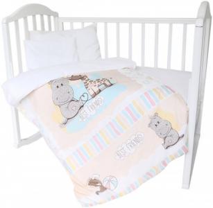 Комплект в кроватку  Лучшие друзья 4 предмета Baby Nice (ОТК)