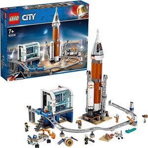 Конструктор  City Space Port 60228: Ракета для запуска в далекий космос и пульт управления запуском LEGO
