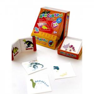 Развивающая игрушка  Пазл конструктор Микскод Динозавры Pic`n Mix