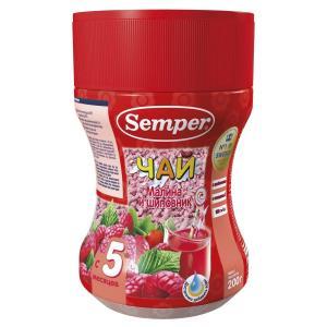 Чай  малина-шиповник, с 5 месяцев, 200 г Semper