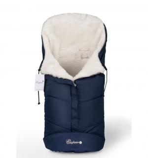 Конверт в коляску  Sleeping Bag White, цвет: Navy Esspero