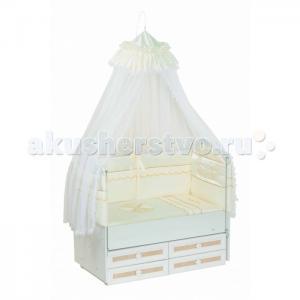 Комплект в кроватку  Друзья (7 предметов) Селена (Сдобина)