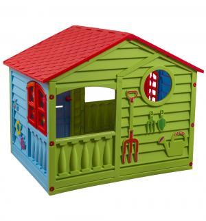 Домик  игровой, цвет:красный/зеленый/голубой Palplay