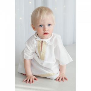 Комплект для крещения мальчика (рубашка, пеленка, мешочек) 692P Pituso