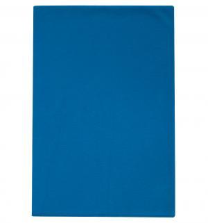 Пеленка Крабики 90 х 120 см, цвет: синий Lucky Child