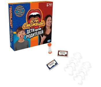 Games Игра настольная Скажи если сможешь Семья Hasbro