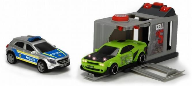 Набор Побег из тюрьмы (2 машинки: Dodge и Mercedes) Dickie
