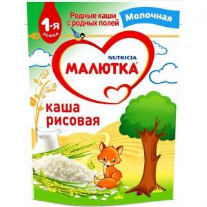 Каша  молочная Рисовая с 4 месяцев 220 г Малютка