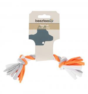 Игрушка для собак  Канат с 2-мя узлами, цвет: разноцветный, 20см Beeztees