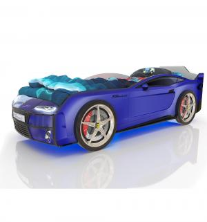 Кровать-машинка  Kiddy, цвет: синий Romack