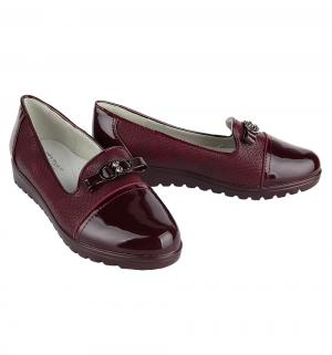Туфли , цвет: бордовый Tom.m