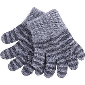 Перчатки  для девочки Wojcik. Цвет: синий