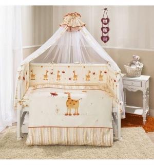 Комплект постельного белья  Кроха, цвет: желтый Perina