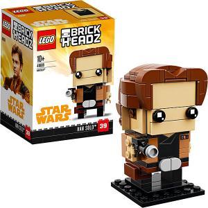 Сборная фигурка  BrickHeadz 41608: Хан Соло LEGO