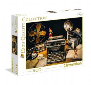 Пазл  Классика. Пишущая машинка 500 элементов Clementoni