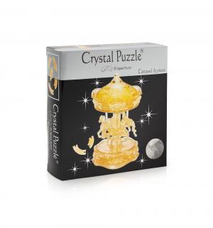 Головоломка 3D  Золотая Карусель цвет: желтый Crystal Puzzle