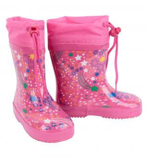 Резиновые сапоги , цвет: розовый Bi&Ki