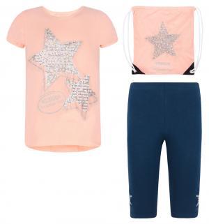 Комплект туника/леггинсы/рюкзак , цвет: оранжевый Tiger baby & kids