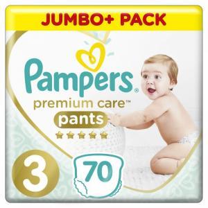 Подгузники-трусики Premium Care 3 р. (6-11 кг) 70 шт. Pampers