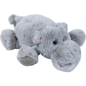 Мягкая игрушка  Бегемот, 27 см Teddykompaniet. Цвет: серый