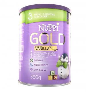 Молочный напиток  Gold 3 Ваниль с 12 месяцев, 350 г Nuppi
