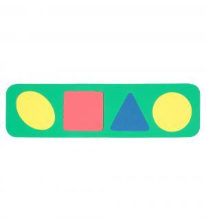 Рамка-вкладыш  Геометрические формы зеленый Бомик