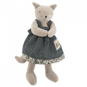 Мягкая игрушка  Агата кошка 30 см Moulin Roty
