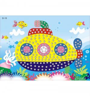 Мозаика самоклеящаяся  Подводная лодка Color Kit