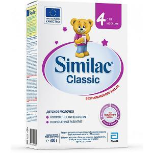 Молочная смесь  Classic 4, с 18 мес, 300 г Similac