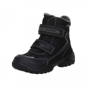 Ботинки  для мальчика Superfit. Цвет: черный