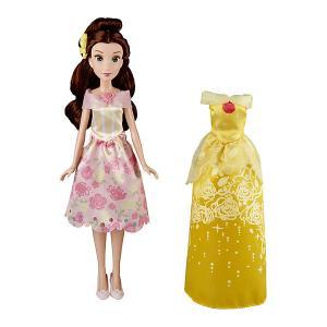 Кукла Disney Princess С двумя нарядами Белль, 29 см Hasbro