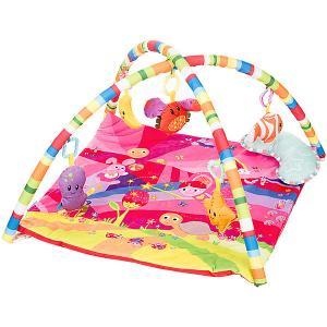 Развивающий коврик  Play Yard 2 Розовая мечта Baby Hit. Цвет: розовый
