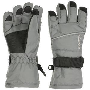 Перчатки GUSTI. Цвет: темно-серый