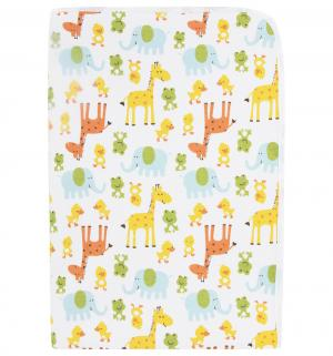 Пеленка Животные 50 х 70 см, цвет: белый Multi-Diapers