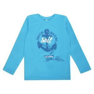 Джемпер  Морская, цвет: голубой Leader Kids