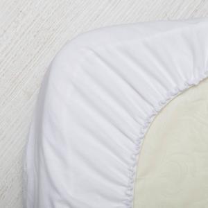Наматрасник непромокаемый в овальную кроватку Сонный гномик