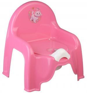 Горшок-стульчик  Кошечка Мари, цвет: коралловый Disney