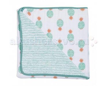 Одеяло  муслиновое Oahu and Zig-Zag 122х122 см Bebe au Lait