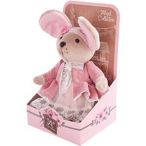 Мягкая игрушка  Мышка шарнирная Розочка, 25 см Angel Collection. Цвет: разноцветный