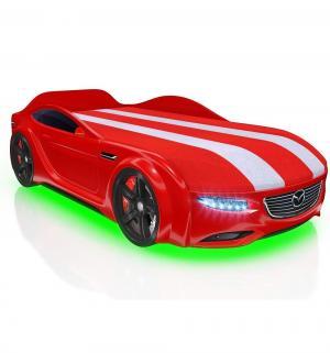 Кровать-машина  Junior Cx5, цвет: красный Romack
