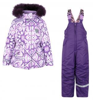 Комплект куртка/полукомбинезон  Майолика, цвет: фиолетовый Stella